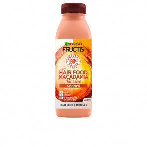 Garnier Fructis Hair Food Macadamia Champu Alisador 350 ml