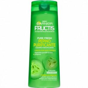 Garnier Fructis Pure Fresh Pepino Purificante Champu 360 ml