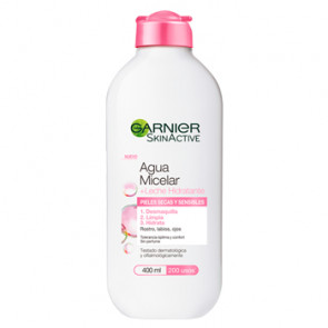 Garnier SkinActive Agua Micelar + Leche Hidratante 400 ml