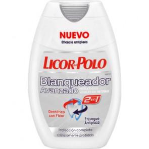 Licor del Polo 2 en 1 Blanqueador Avanzado Pasta de dientes 75 ml