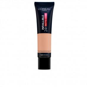 L'Oréal Infalible 24H Matte Cover Foundation - 145 Rose Beige