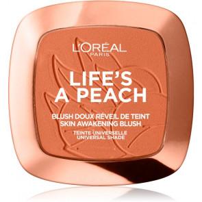 L'Oréal Life's a Peach Blush - 1 Eclat peach