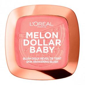 L'Oréal Melon Dollar Baby Skin awakening blush - 03 Melon berry