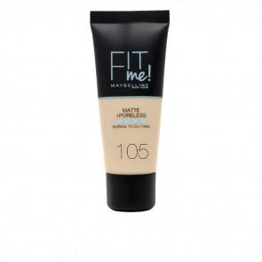Maybelline Fit Me Matte+Poreless Foundation - 105 Natural Ivory