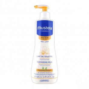 Mustela BEBE Leite de limpeza Pele seca 500 ml
