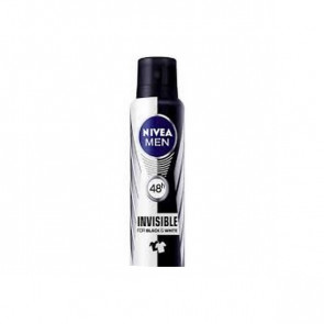 Nivea NIVEA MEN INVISIBLE FOR BLACK AND WHITE Spray Desodorizante 200 ml