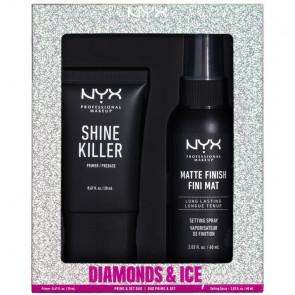 NYX Lote DIAMONDS & ICE Set de maquillaje facial