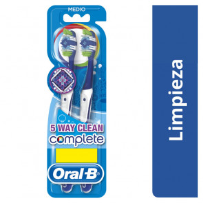 Oral-B Lote COMPLETE 5 WAYS CLEAN Set de cuidado bucal