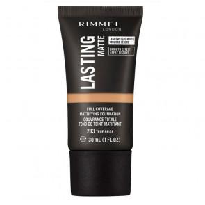 Rimmel LASTING MATTE FOUNDATION - 203 True beige 30 ml