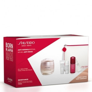 Shiseido Lote BENEFIANCE SMOOTHING CREAM POUCH Set de cuidado facial
