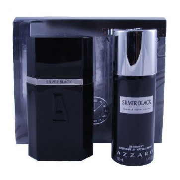 Azzaro Lote SILVER BLACK Eau de toilette Vaporizador 100 ml + Desodorante 150 ml