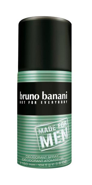 Bruno Banani MADE FOR MEN Desodorante Vaporizador 150 ml