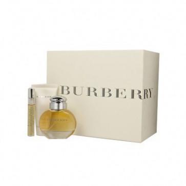 Burberry Lote BURBERRY FOR WOMEN Eau de parfum Vaporizador 50 ml + Loción corporal 50 ml + Eau de parfum Miniatura 7,5 ml
