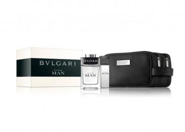 Bvlgari Lote BVLGARI MAN Eau de toilette Vaporizador 100 ml + Gel de baño 75 ml + Neceser