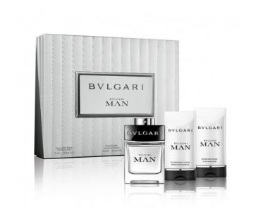 Bvlgari Lote BVLGARI MAN Eau de toilette Vaporizador 60 ml + Gel de baño 75 ml + Aftershave Bálsamo 75 ml
