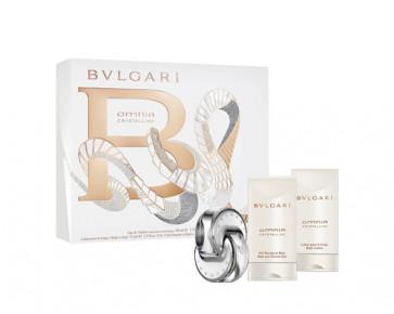 Bvlgari Lote OMNIA CRYSTALLINE Eau de toilette Vaporizador 40 ml + Loción corporal 75 ml + Gel de baño 75 ml