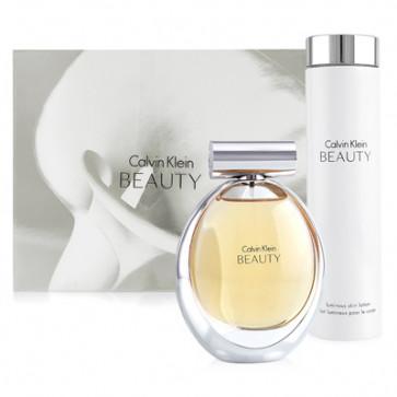 Calvin Klein Lote BEAUTY Eau de parfum Vaporizador 100 ml + Loción corporal 200 ml