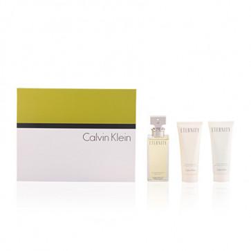 Calvin Klein Lote ETERNITY Eau de parfum Vaporizador 100 ml + Loción corporal 100 ml + Gel de ducha 100 ml