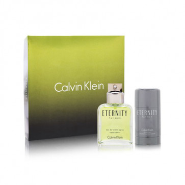 Calvin Klein Lote ETERNITY FOR MEN Eau de toilette Vaporizador 100 ml + Desodorante Stick 75 gr