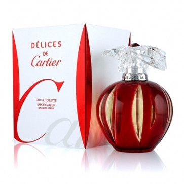 Cartier DELICES DE CARTIER Eau de toilette Vaporizador 50 ml