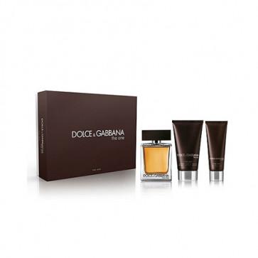 ... Après-rasage baume 75 ml + Gel douche 50 ml. Dolce   Gabbana Lote THE  ONE FOR MEN Eau de toilette Vaporizador 100 ml + Aftershave f87a150c5e10