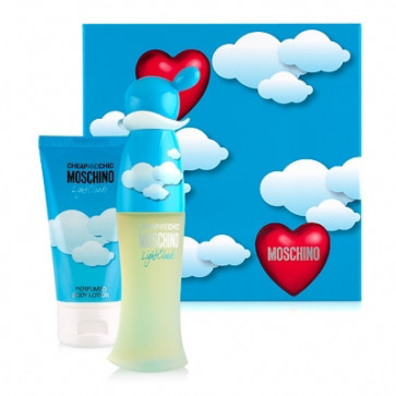 Moschino Lote CHEAP & CHIC LIGHT CLOUDS  Eau de toilette Vaporizador 30 ml + Loción corporal 50 ml