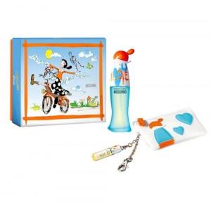 Moschino Lote CHEAP & CHIC I LOVE LOVE Eau de toilette Vaporizador 50 ml + Monedero