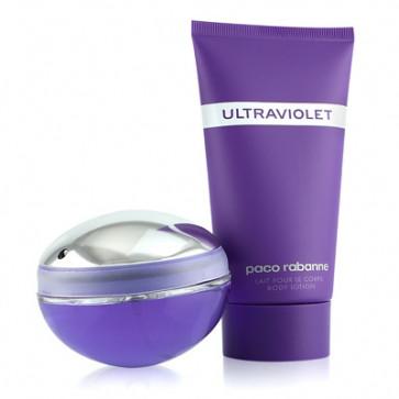 Paco Rabanne Lote ULTRAVIOLET Eau de parfum Vaporizador 50 ml + Loción corporal 100 ml Ed. 2011