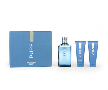 Roberto Verino Lote RV PURE Eau de toilette Vaporizador 150 ml + Gel 100 ml + After shave bálsamo 100 ml