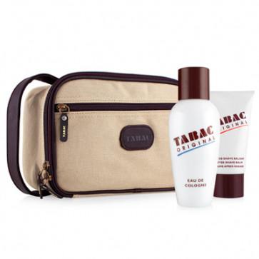Tabac Lote ORIGINAL TABAC Eau de cologne Vaporizador 300 ml + After shave bálsamo 75 ml + neceser