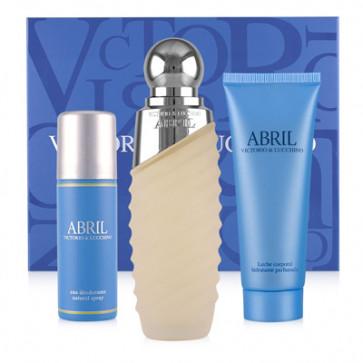 Victorio & Lucchino Lote ABRIL Eau de toilette Vaporizador 100 ml + Desodorante 50 ml + Loción Corporal 75 ml