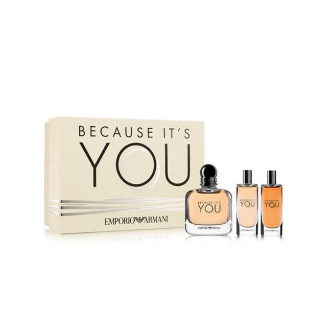 Emporio Armani Coffret Because Its You Eau De Parfum