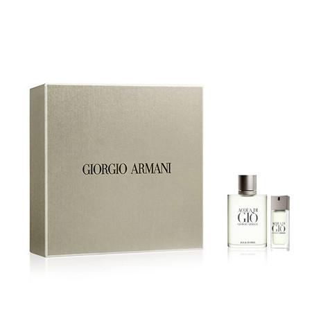 Gio Giorgio Di De Ml20 Eau Vaporisateur 100 Acqua Coffret Armani Toilette Pour Homme ChrdotQxsB