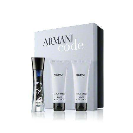 Giorgio Femme Douche De 75 Armani Code Parfum Eau Vaporisateur CorporelleGel Coffret Mllotion WD2H9EYI