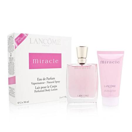 Parfum 50 Lancome MlLotion Coffret Eau De Vaporisateur Miracle Corporelle clK1JF3T