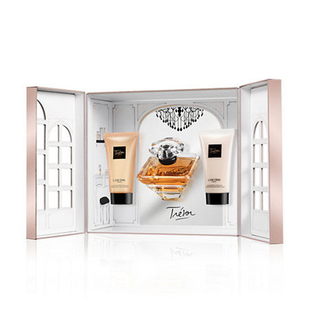 Coffret Gel Corporelle MlLotion Eau Trésor Vaporisateur 50 Lancôme De Parfum OkiXZPuT