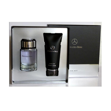 acheter mercedes benz coffret mercedes benz eau de toilette vaporisateur 75 ml gel douche 200 ml. Black Bedroom Furniture Sets. Home Design Ideas
