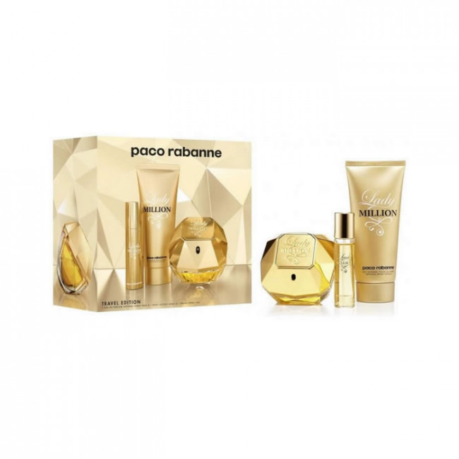 0152444890e Paco Rabanne Coffret LADY MILLION Eau de parfum