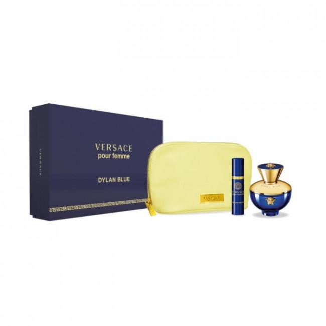 Versace Coffret Dylan Blue Pour Femme Eau De Parfum