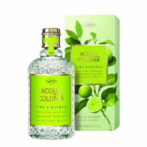 4711 ACQUA COLONIA LIME & NUTMEG Eau de cologne 170 ml