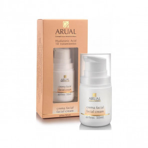 Arual Crema Facial Hyaluronic Acid 10 tratamientos 50 ml