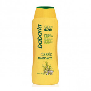 Babaria CLASSIC Gel de Baño Tonificante 600 ml