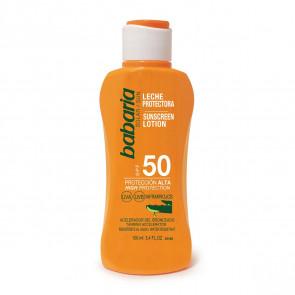 Babaria Leche protectora SPF50 Aloe Vera 100 ml