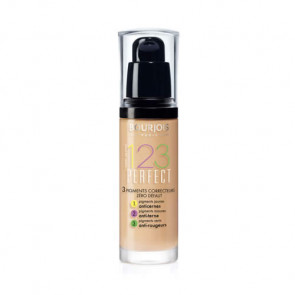 Bourjois 123 PERFECT Liquid Foundation 54 Beige 30 ml