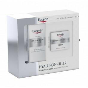 Eucerin Lote HYALURON-FILLER PIEL NORMAL Y MIXTA Set de cuidado facial