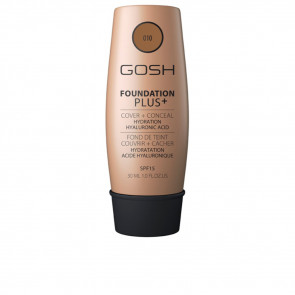 Gosh Foundation Plus+ Cover & Conceal SPF15 - 010 Tan 30 ml
