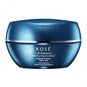 Kosé CELL RADIANCE Extract Replenish & Renew Night Cream 40 ml