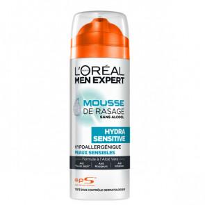 L'Oréal Men Expert Hydra Sensitive Mousse de Rasage 200 ml