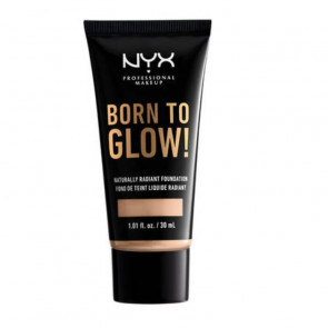 NYX Born to Glow! Naturally Radiant Foundation - Vanilla 30 ml