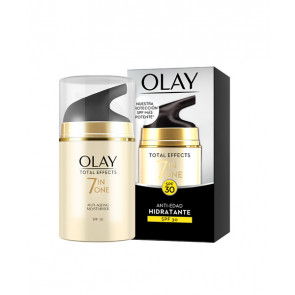 Olay TOTAL EFFECTS Anti-Edad Hidratante de Día SPF30 50 ml